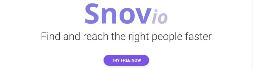 Snov.io - Plateforme de génération de prospect
